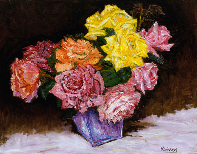 Thierry Hennequin Impressionist Paintings Collection Oil On Canvas